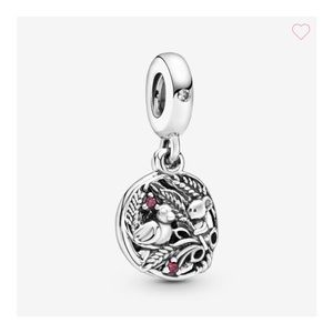 Pandora bird and mouse charm